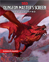 Dungeons & Dragons RPG - Dungeon Master's Screen