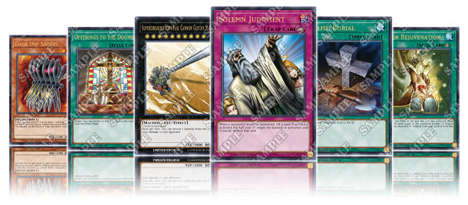 YuGiOh Lost Art Cards