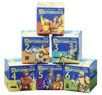 Carcassonne minis 1-6