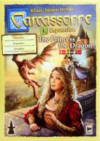 Carcassonne expansion The Princess & the Dragon