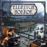 Eldritch Horror expansion Masks of Nyarlathotep