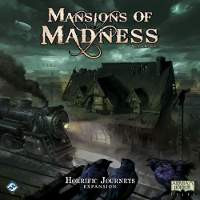 Mansions of Madness 2nd edition Horrific Journeys expansion