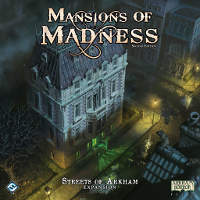 Mansions of Madness 2nd edition Streets of Arkham expansion