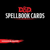 Dungeons & Dragons RPG - Spellbook Cards