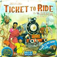 Ticket to Ride - Map Collection Volume 2 - India & Schweiz
