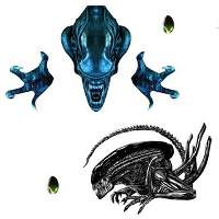 Alien Wall Decal Set – 40th Anniversary Edition (Fanattik)