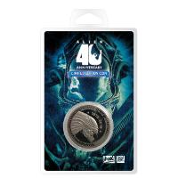 Aliens Collectable Coin 40th Anniversary Silver Edition