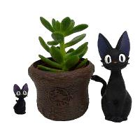 Kiki's Delivery Service - Jiji Mini Flower Pot (Studio Ghibli)