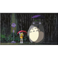 My Neighbor Totoro Wooden Wall Art (Studio Ghibli)